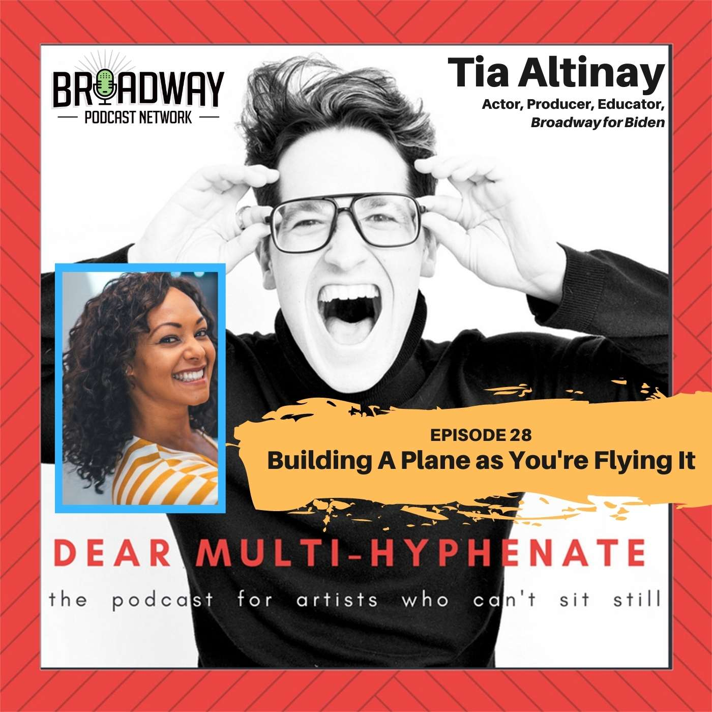 #28 - Dear Multihyphenate - #28 - Tia Altinay: Building A Plane As You're Flying ItTia Altinay: Building A Plane As You're Flying It