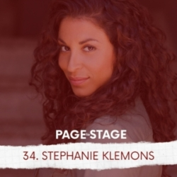 Page to Stage with Mary Dina - 34 - Stephanie Klemons