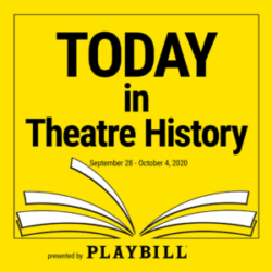 Today in Theatre History - September 28–October 4, 2020: Cats, Big Fish, Swan Lake