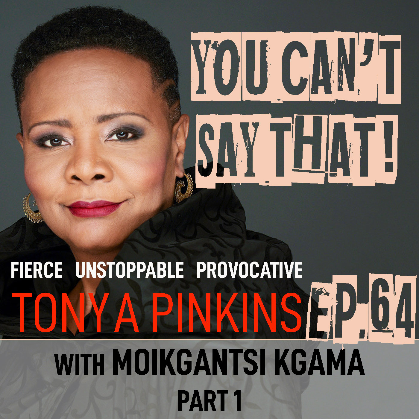 You Can't Say That Tonya Pinkins Ep64 - Moikgantsi Kgama (Part 1)