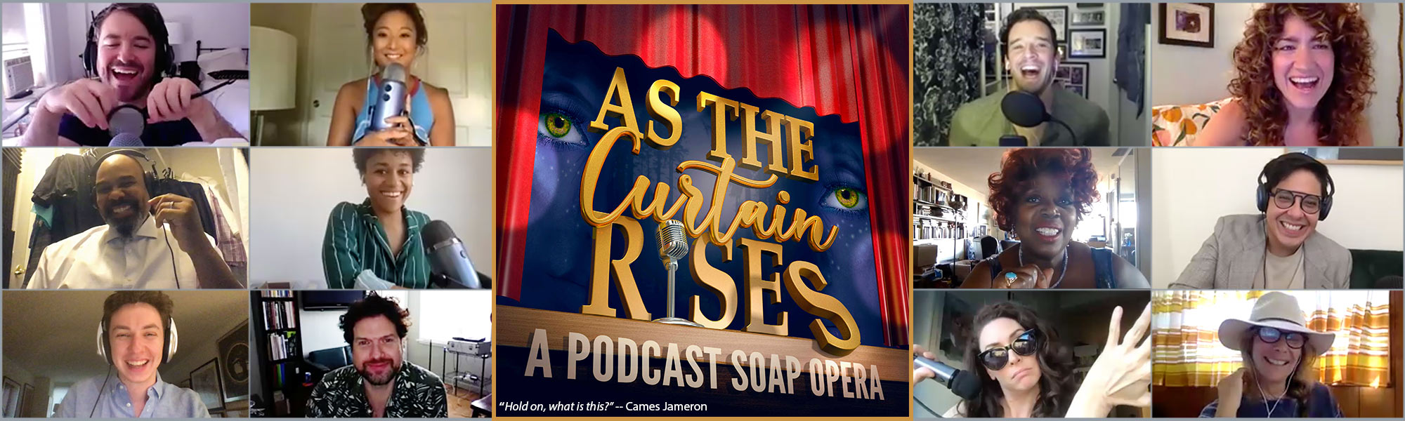 Listen to As the Curtain Rises, with Alex Brightman, Ashley Park, Andrew Barth Feldman, Arian DeBose, and so many more!