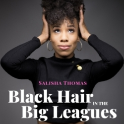 Black Hair in the Big Leagues - logo