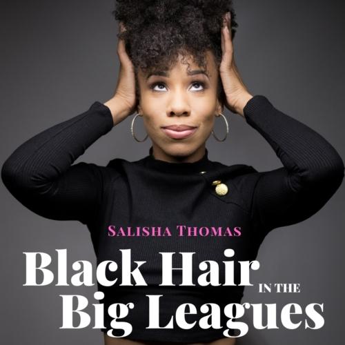 Black Hair in the Big Leagues - logo