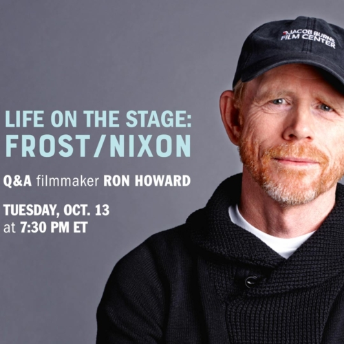 LIFE ON THE STAGE: Frost/Nixon with Ron Howard