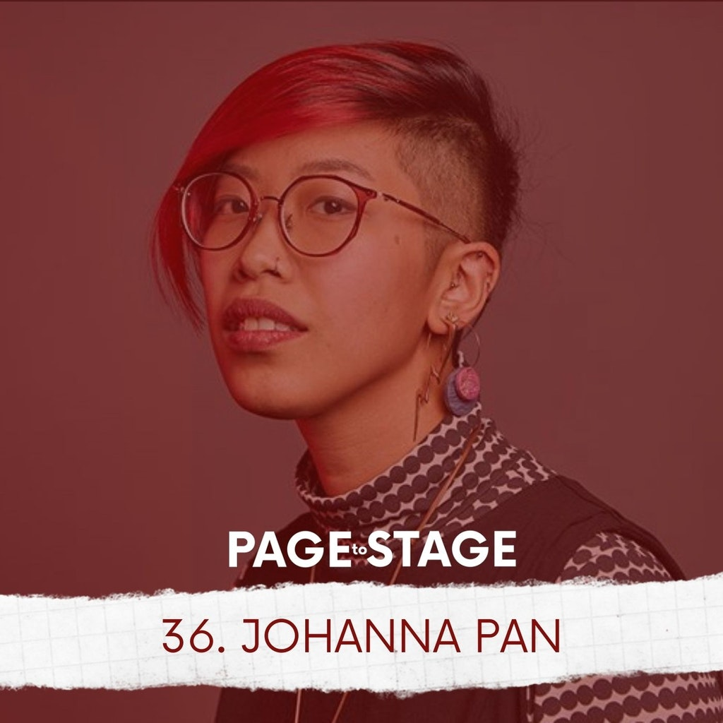 Page to Stage with Mary Dina - 36 - Johanna Pan