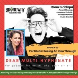 #30 - Rona Siddiqui: Fortitude: Seeing An Idea Through