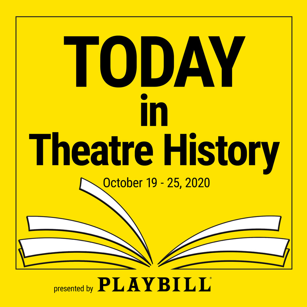 Today in Theatre History - October 19–25, 2020: Julie Andrews returns to Broadway in Victor/Victoria, Patti LuPone returns to Broadway in Anything Goes