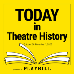 Today in Theatre History - October 26–November 1, 2020: Life is a banquet as Rosalind Russell opens in Auntie Mame, Idina Menzel