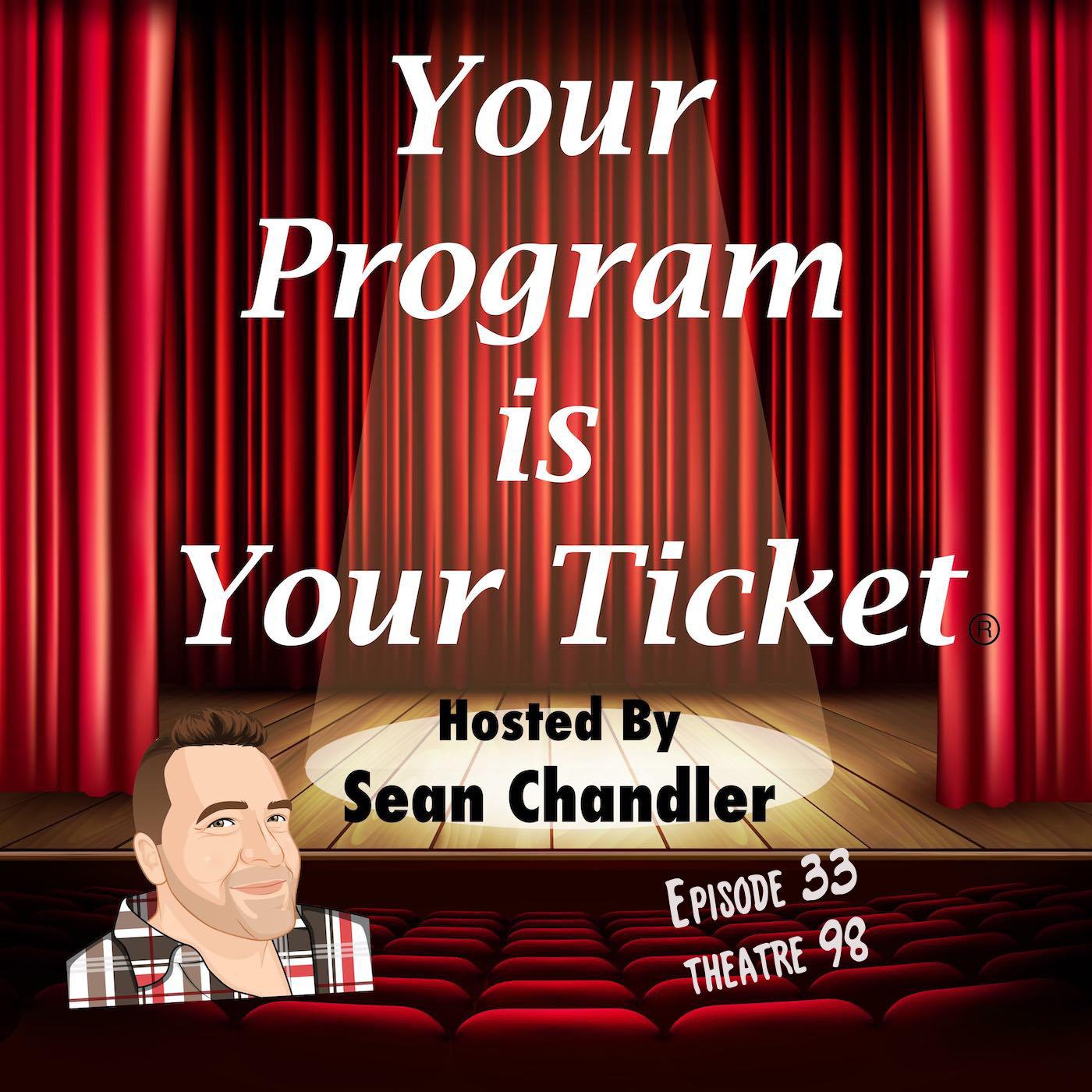 Ep 33 Your Program Is Your Ticket Logo Registered Trademark