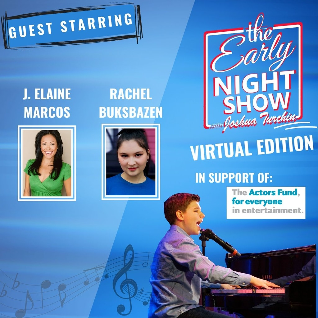 The Early Night Show - S5 Ep13 - J. Elaine Marcos, Rachel Buksbazen