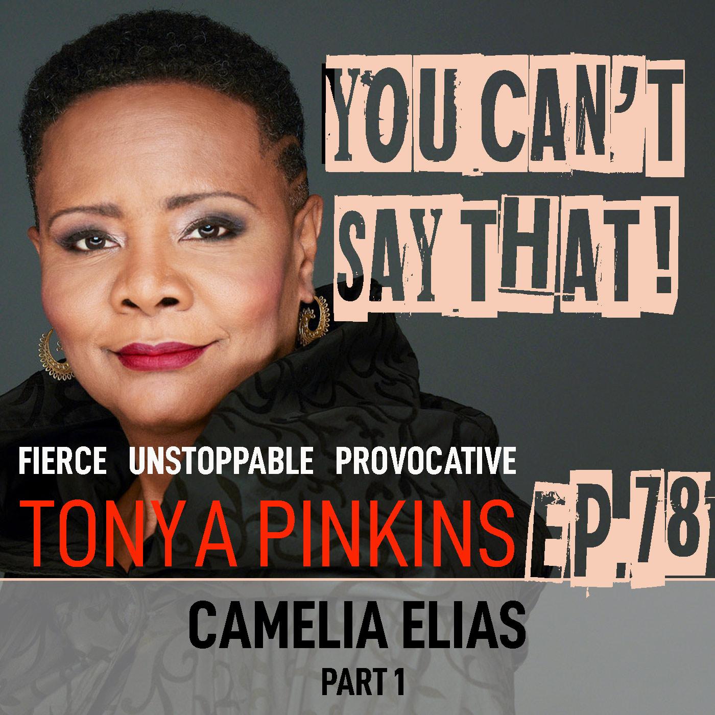 You Can't Say That Tonya Pinkins Ep78 - Camelia Elias (Part 1)