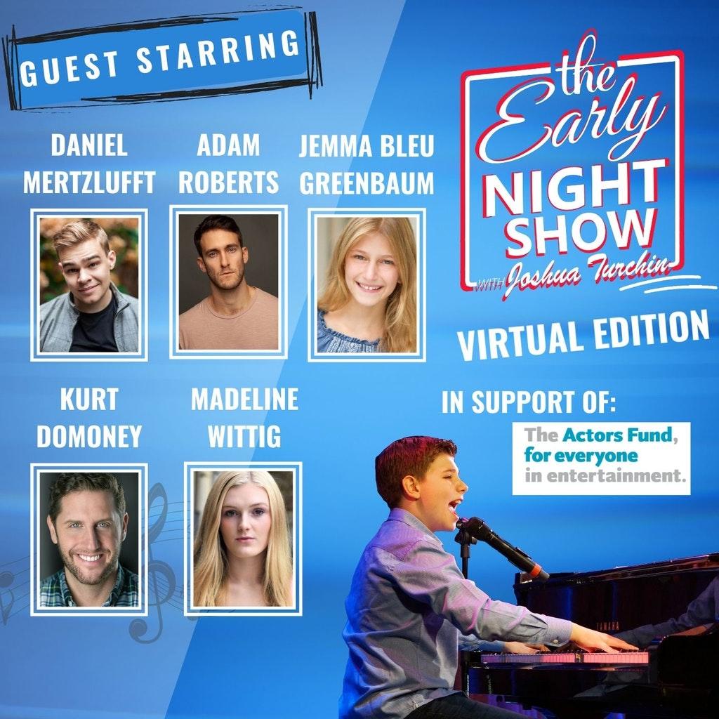 The Early Night Show - S6 Ep1 - Daniel Mertzlufft, Adam Roberts, Jemma Bleu Greenbaum, Kurt Domoney, Madeline Wittig