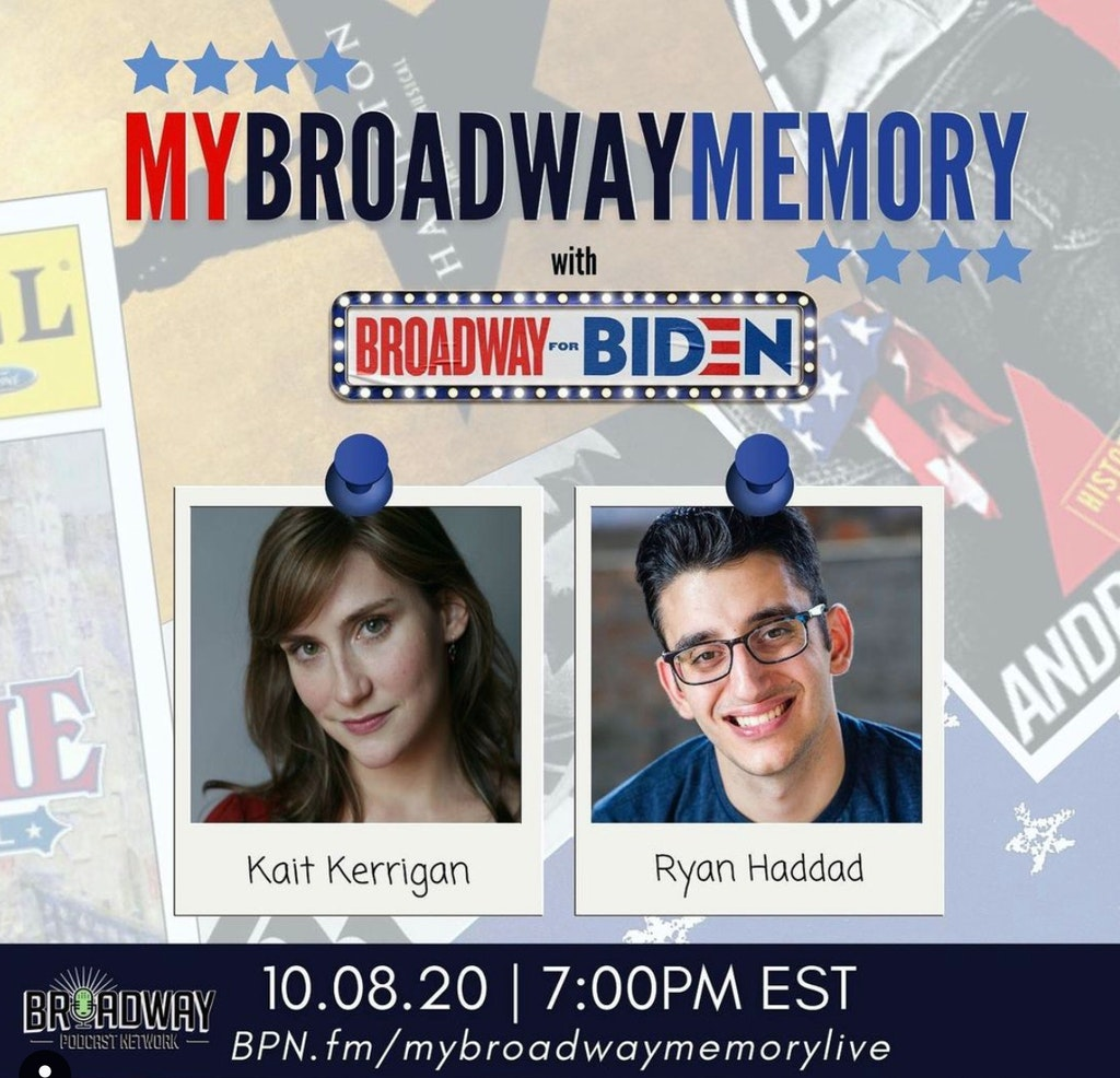 My Broadway Memory - Broadway for Biden October 8, 2020