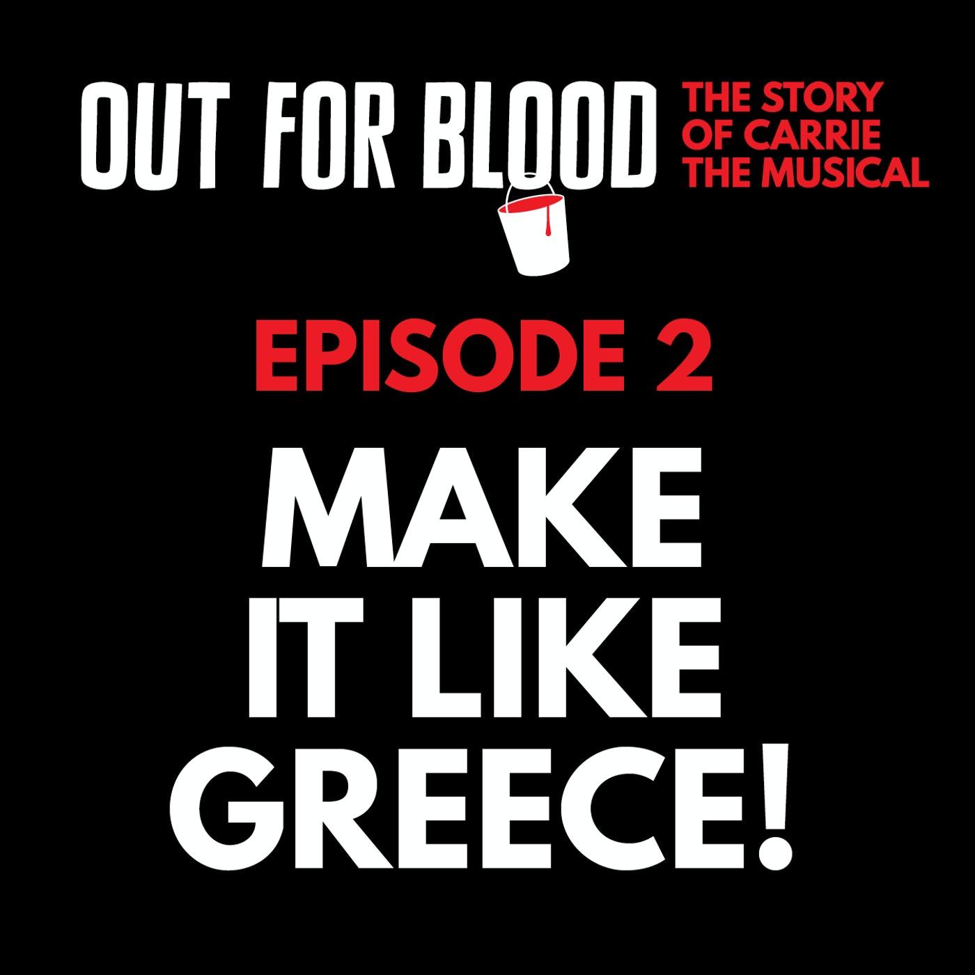 Chapter 2: Make it like Greece!