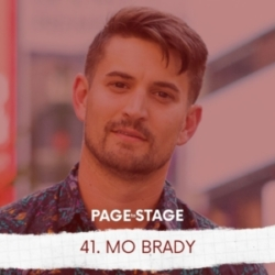 Page to Stage with Mary Dina - 41 - Mo Brady, Theatre Advocate