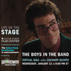 Life On The Stage: Zachary Quinto