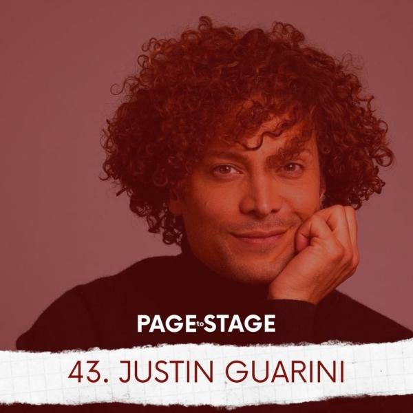 Page to Stage with Mary Dina - 43 - Justin Guarini, Actor & Artrepreneur