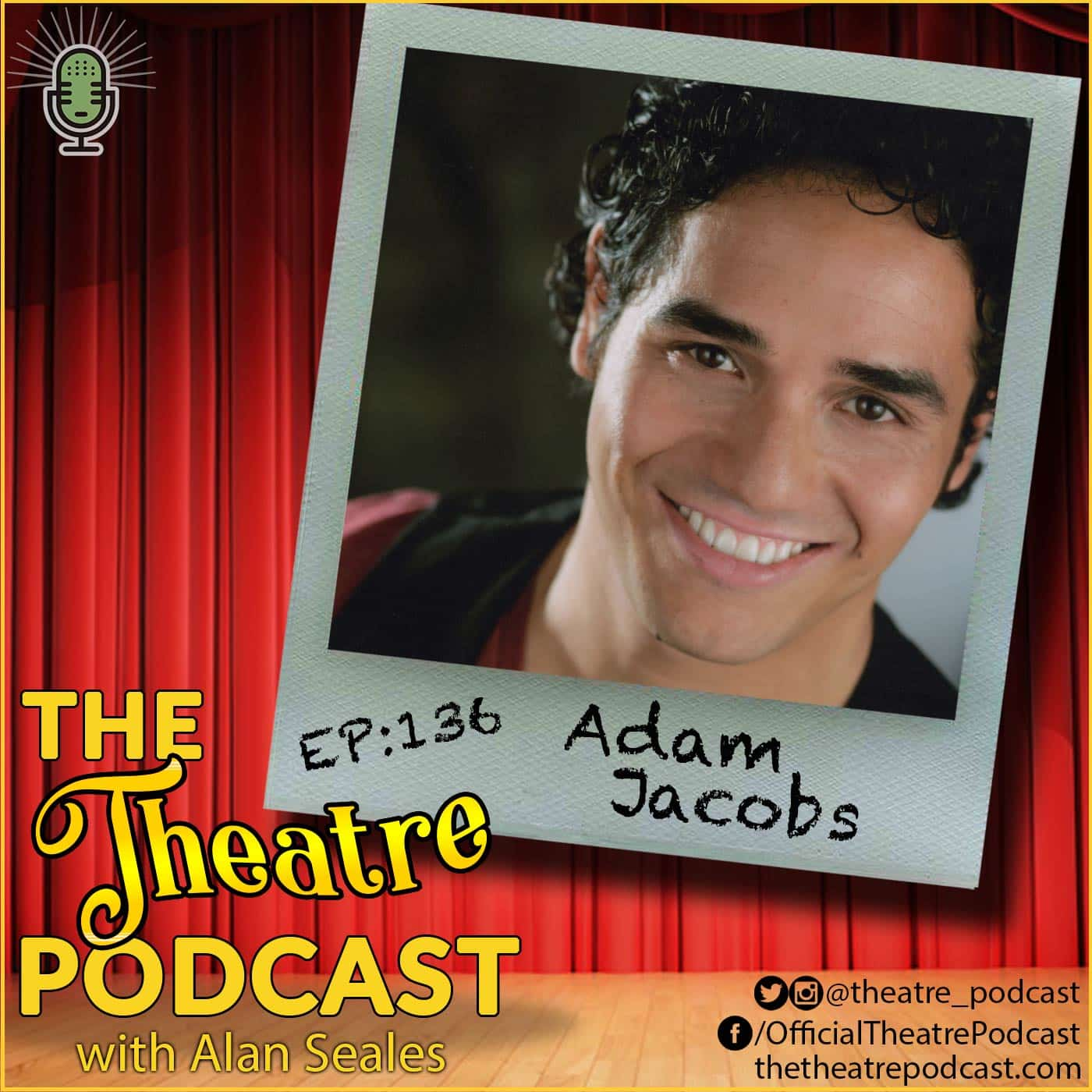 Ep136 - Adam Jacobs: Aladdin, The Lion King, Les Miserables