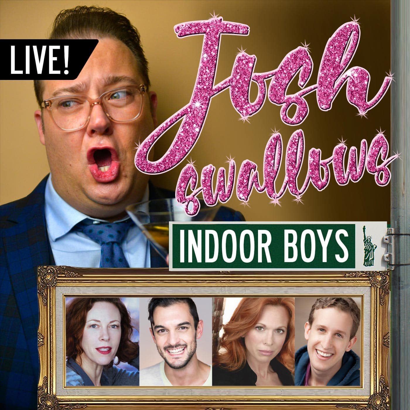 Ep39 - LIVE: INDOOR BOYS - Alex Wyse, Wesley Taylor, Carolee Carmello, & Veanne Cox