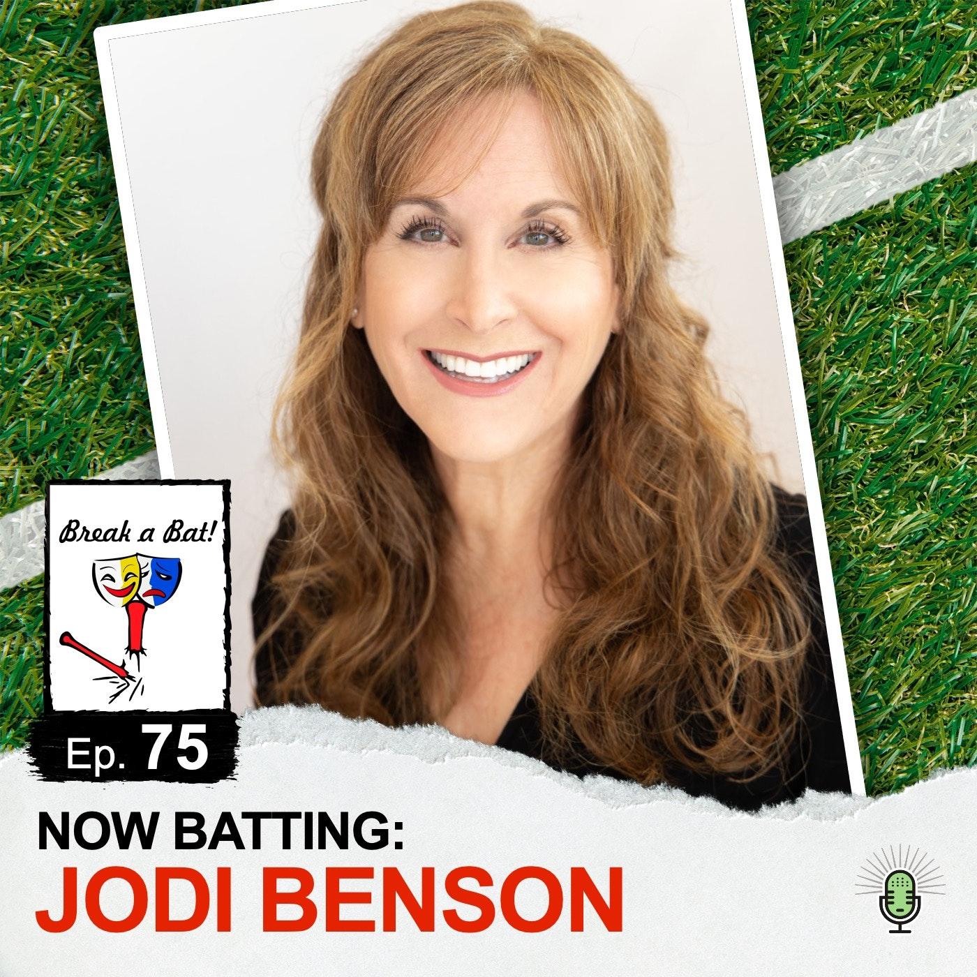 #75 - Now Batting: Jodi Benson