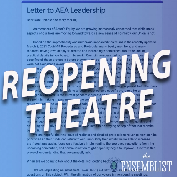 #502 - Reopening Theatre (feat. Timothy Hughes, Michael Fatica)