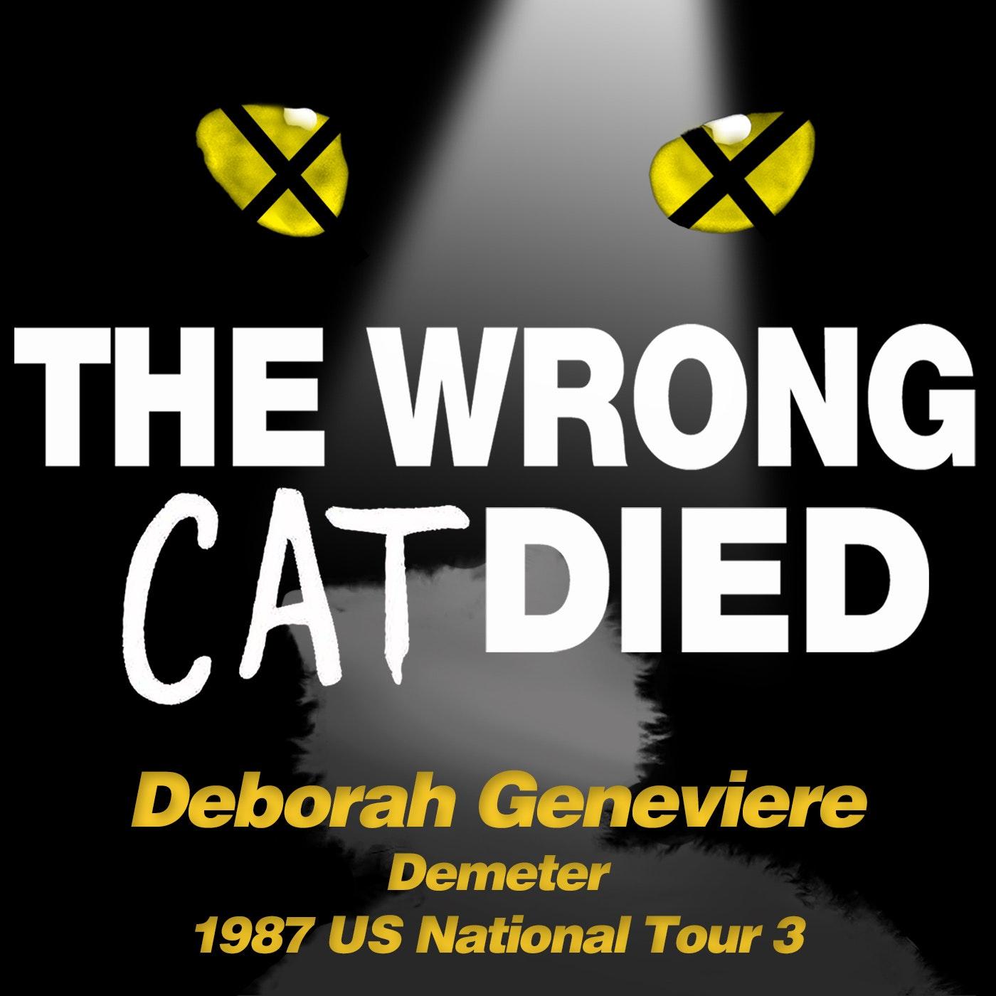 Ep38 - Deborah Geneviere, Demeter from 1987 US National Tour 3