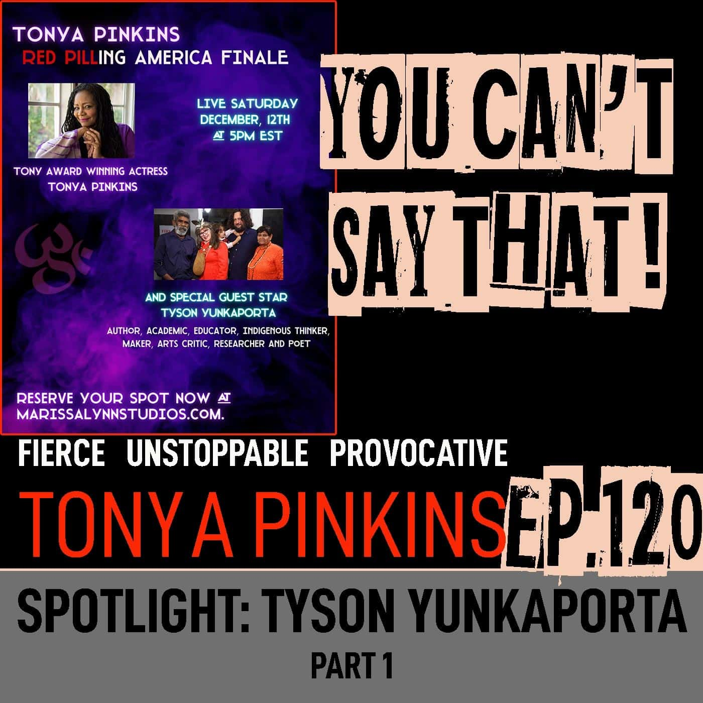 Ep120 - SPOTLIGHT: Red Pilling America with with Tyson Yunkaporta (Part 1)