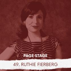 49 - Ruthie Fierberg, Arts Journalist