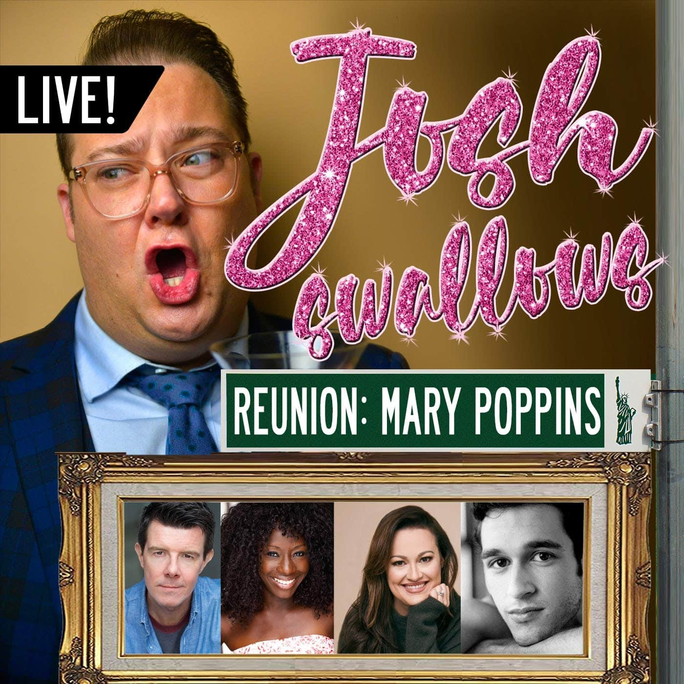 Ep45 - LIVE: Mary Poppins (Gavin Lee, Vasthy Mompoint, Ashley Brown & Tony Mansker)