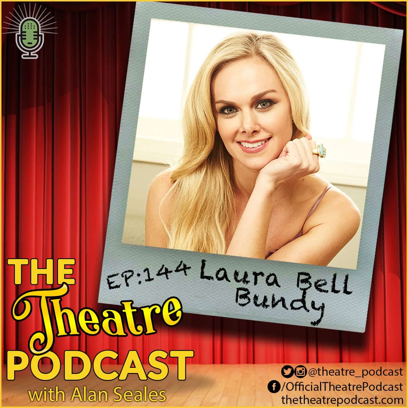 Ep144 - Laura Bell Bundy: Legally Blonde, Hairspray, Wicked, and TV/Film credits out the wazoo