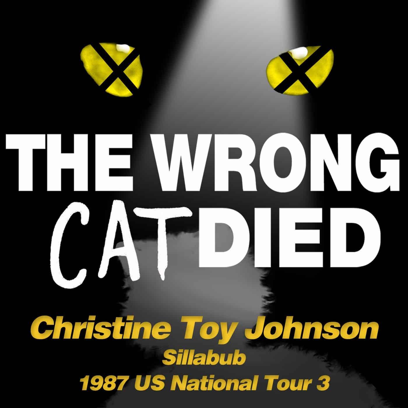 Ep46 - Christine Toy Johnson, Sillabub on 1987 US National Tour 3