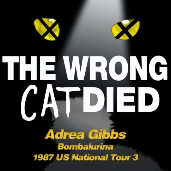 Ep47 - Adrea Gibbs, Bombalurina on 1987 US National Tour 3