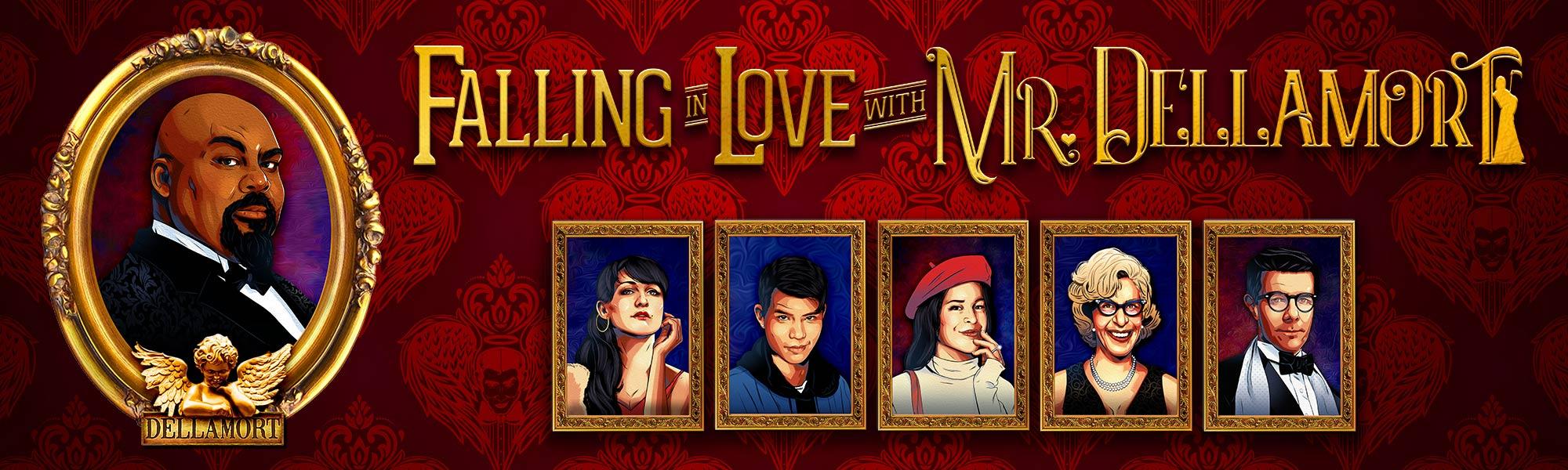 Falling in Love with Mr Dellamort - banner