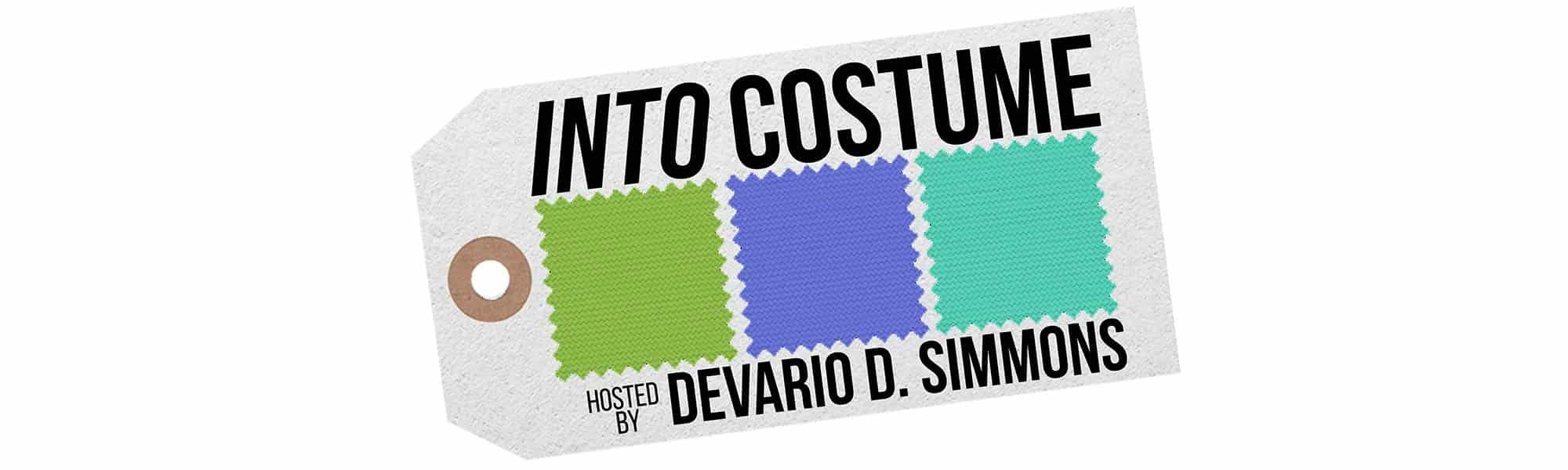 Into Costume banner