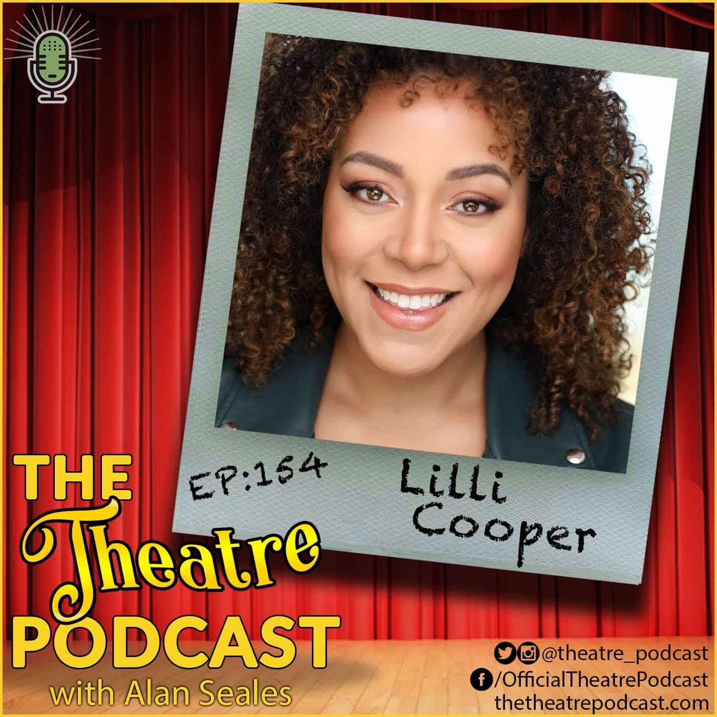 Ep154 - Lilli Cooper - Tootsie, Spongebob Squarepants, Spring Awaking ... and motherhood!