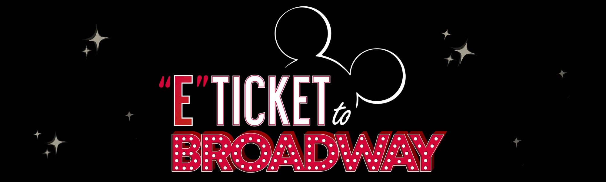 Keep your hands, arms, feet, and legs inside the podcast at all times - E-Ticket To Broadway