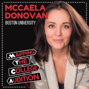 Ep. 20 (CDD): McCaela Donovan from Boston University on Taking Artistic Risks