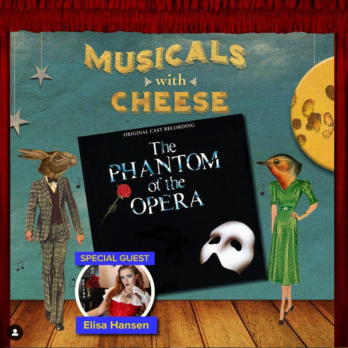 "Musicals With Cheese #23: ""The Phantom of the Opera"" (feat. Elisa Hansen)"