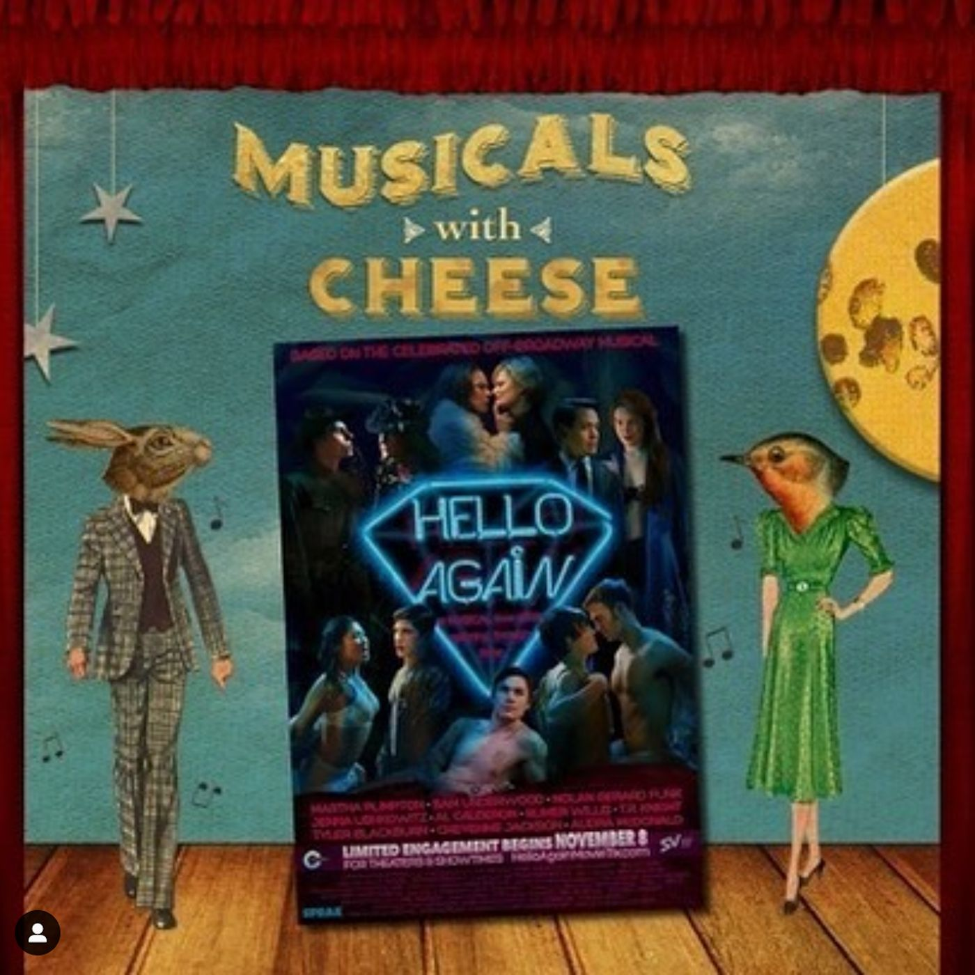 "Musicals With Cheese #28: ""Hello Again"""