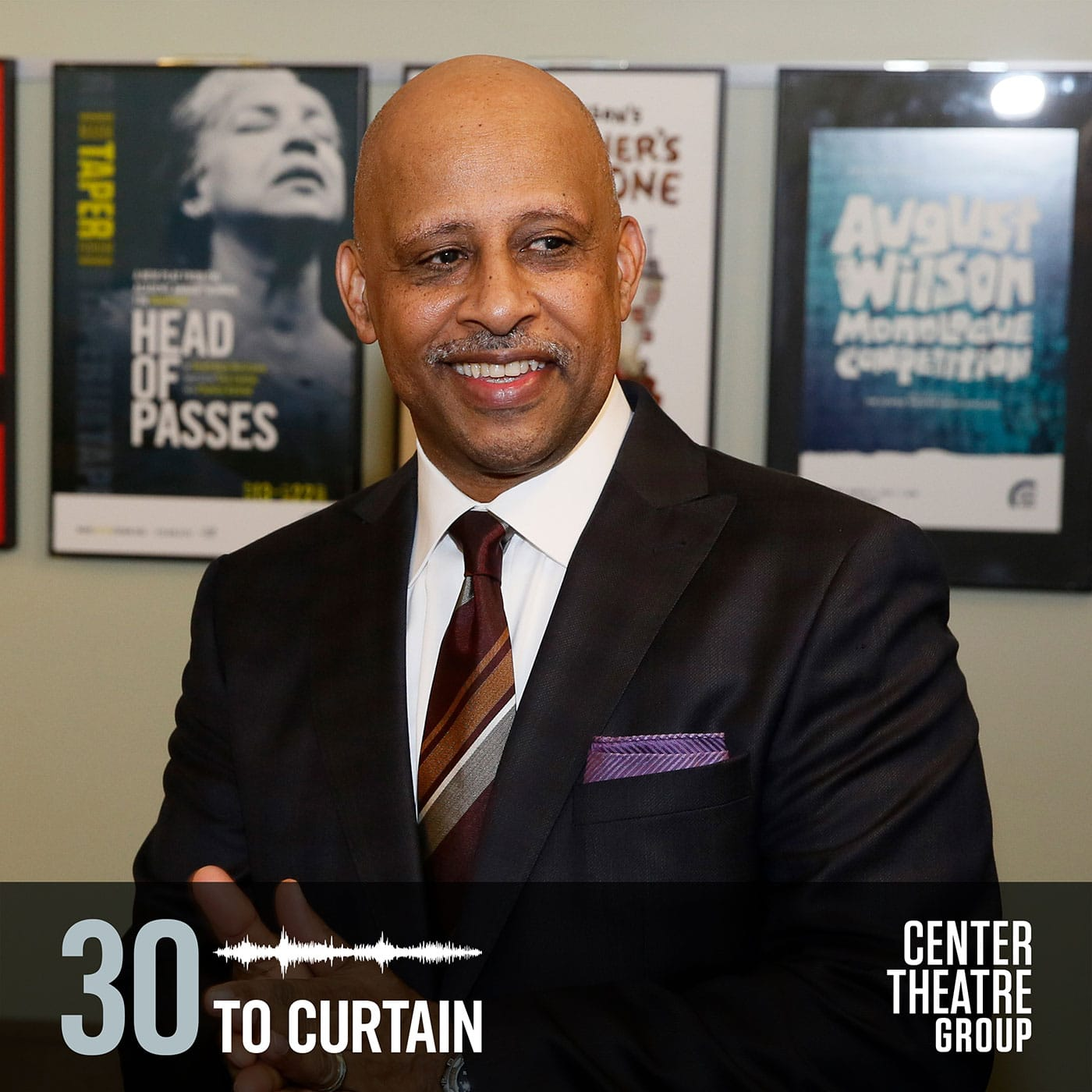 "30toCurtain Episode Ruben Santiago-Hudson on ""Jitney"""