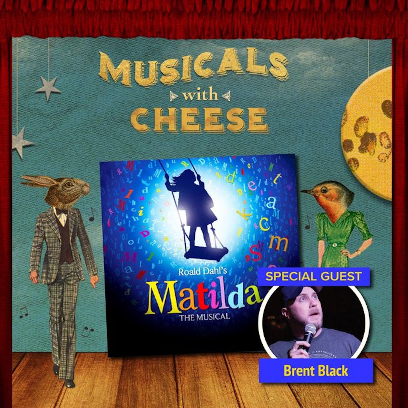 "Musicals With Cheese #31: ""Something Rotten"" (feat. Katie Lynch of ""Backstage Bite"")"