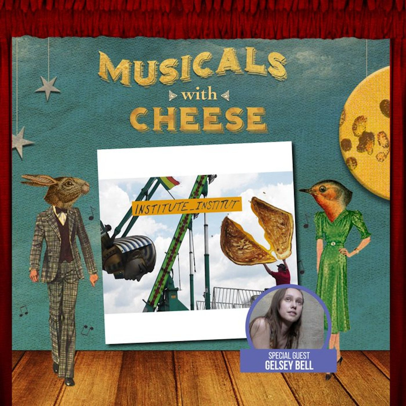 "Musicals With Cheese #32: ""The Transformational Grammar of the Institutional Glorybowl Part III: Institute_Institut"" (feat. Gelsey Bell)"
