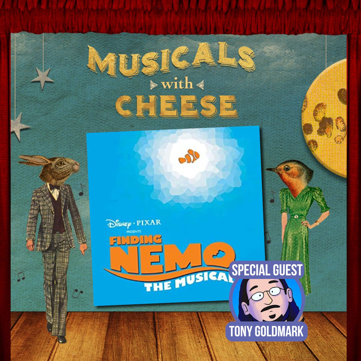 "Musicals With Cheese #39: ""Finding Nemo: The Musical"" (feat. Tony Goldmark)"