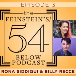 The Feinstein's 54 Below Episode 3 Rona Siddiqui & Billy Recce