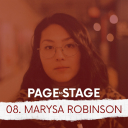 Page to Stage Ep 8 Marysa Robinson