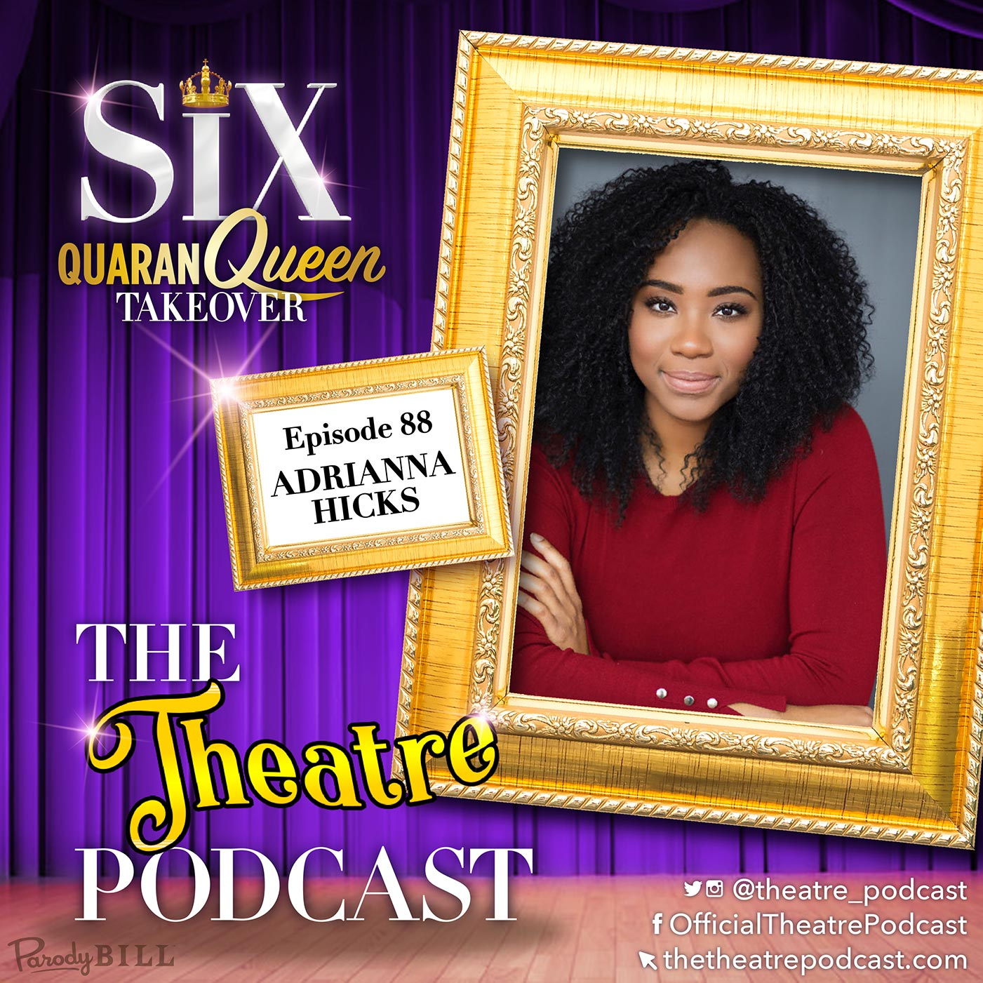 The Theatre Podcast - Ep88 - Adrianna Hicks, Catherine of Aragon in SIX the Musical (Broadway cast)