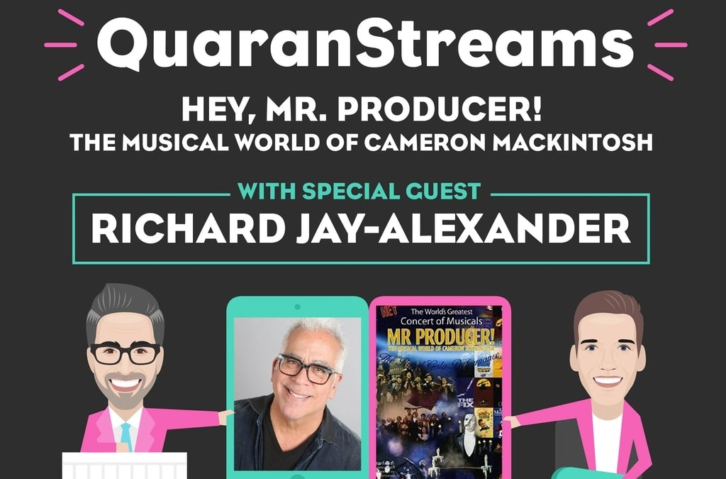 Episode 34: Richard Jay-Alexander (Hey, Mr Producer!)