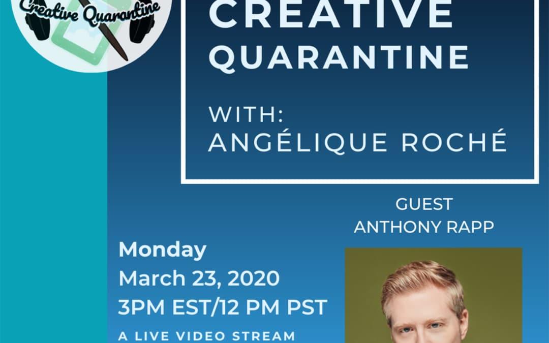Episode 1: Actor, Anthony Rapp