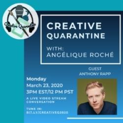 Creative Quarantine - Anthony Raap