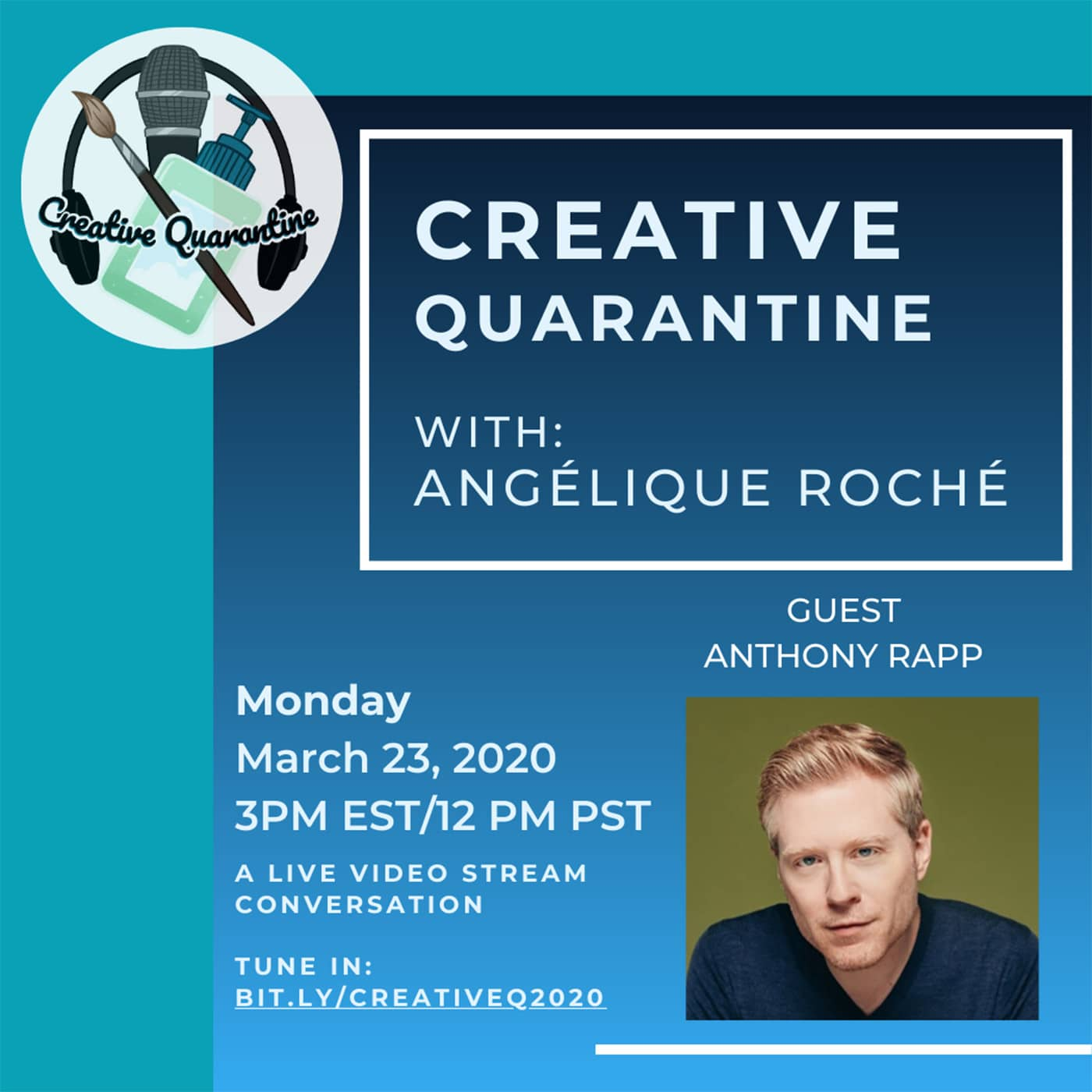 Creative Quarantine - Anthony Raap